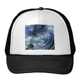 Ripples in Blue Trucker Hat