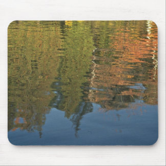 Ripples In The Mirror Mouse Pad