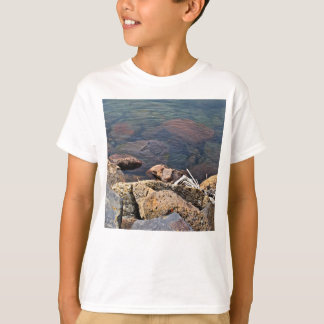 Ripples In The Water With Rocks T-Shirt