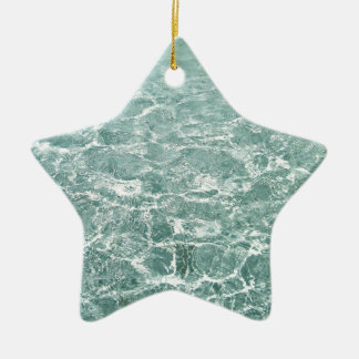 Ripples in Water Christmas Tree Ornaments
