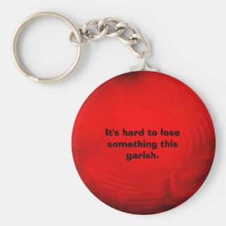 ripples, It's hard to lose something this garish. Keychain