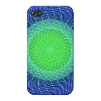 Ripples Mandala Cases For iPhone 4