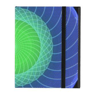 Ripples Mandala iPad Folio Case