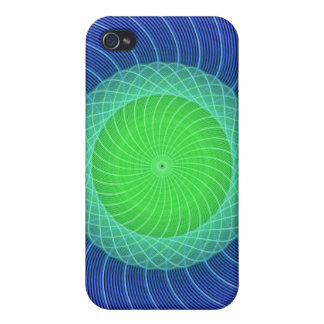 Ripples Mandala iPhone 4/4S Covers