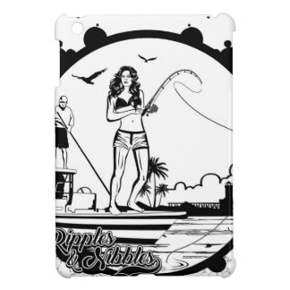 Ripples & NIbbles fishing outfitter logo iPad Mini Covers