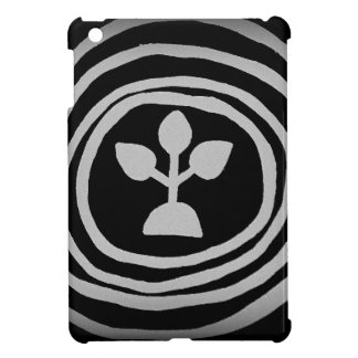 Ripples of life of buds iPad mini cases