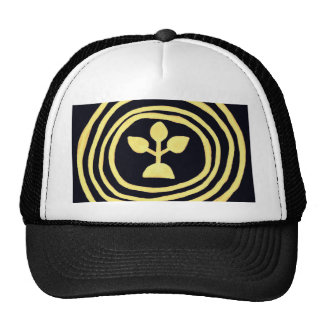 Ripples of life of buds trucker hat