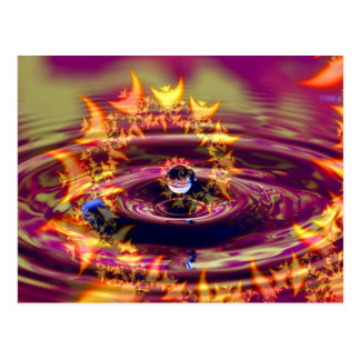 Ripples of Love and Light Postcard