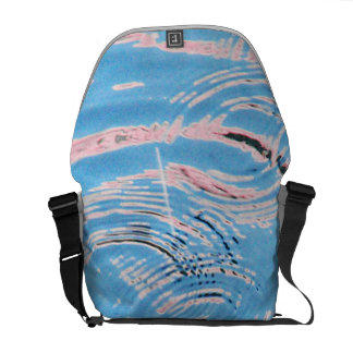 Ripples of Water Courier Bags