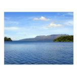 Ripples on Lake Tikitapu (Blue Lake), New Zealand Post Card