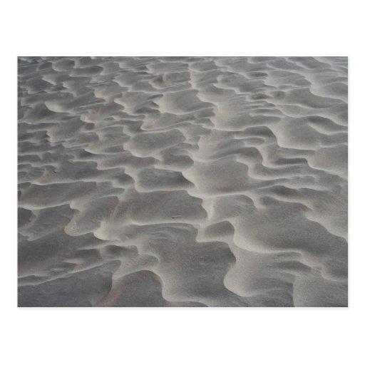 Ripples on sand dune, Death Valley, California, U. Postcard