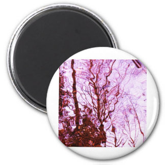 Ripples on the water 2 inch round magnet