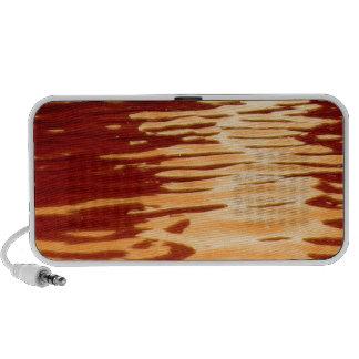 Ripples Orange Travelling Speakers