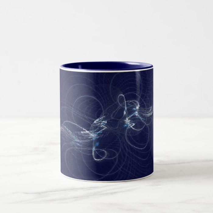 Ripples Two-Tone Coffee Mug