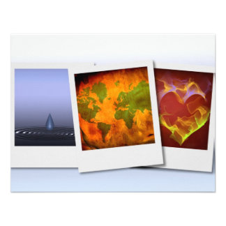 Ripples world heart personalized announcements