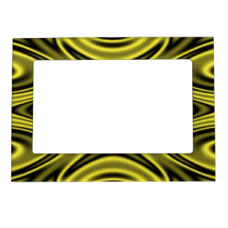Ripples Yellow Magnetic Frame