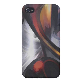 Rippling Fantasy Pastel Abstract iPhone 4 Covers