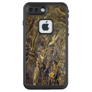Rippling Golden Fractal Fountain Water LifeProof® FRĒ® iPhone 7 Plus Case