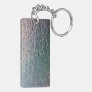 Rippling Water Acrylic Keychain