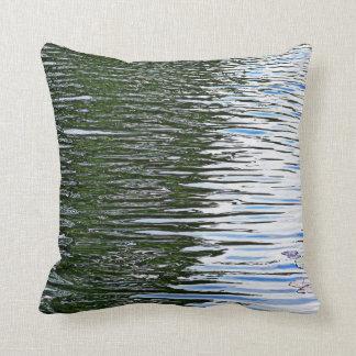 Rippling Water Throw Pillow