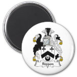 Rippon Family Crest Refrigerator Magnets