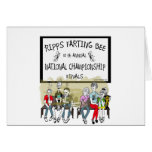 Ripps Farting Bee Greeting Card