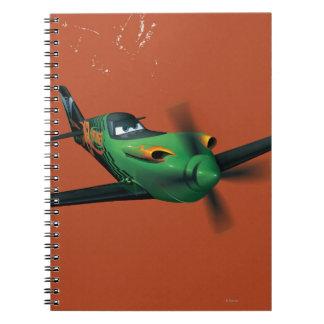Ripslinger 1 spiral notebook