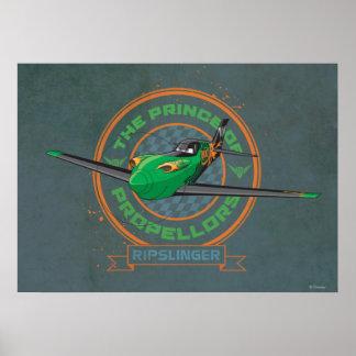 Ripslinger - el príncipe de propulsores posters