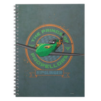 Ripslinger - The Prince of Propellors Notebook