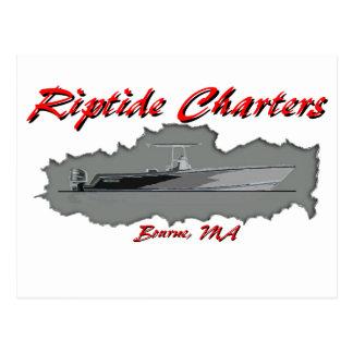 Riptide Charters Postcard