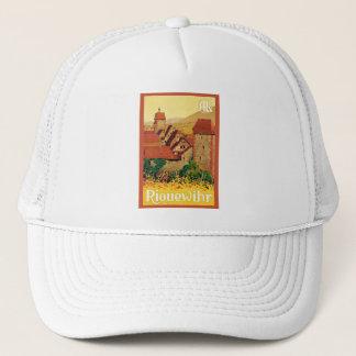 Riquewihr ~ Vintage French Travel Trucker Hat