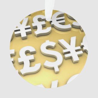 Riqueza de las finanzas internacionales del oro de