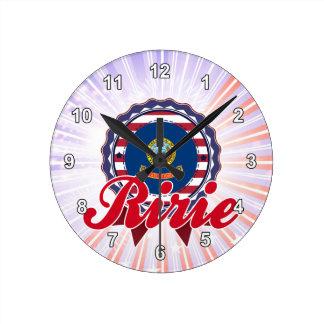 Ririe, ID Clock