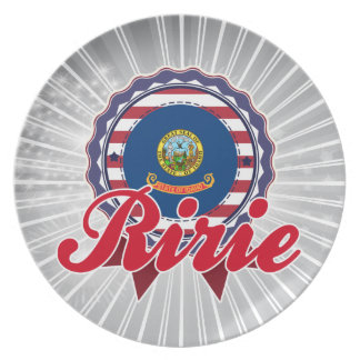 Ririe, ID Dinner Plate