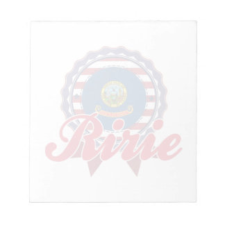 Ririe, ID Memo Pad