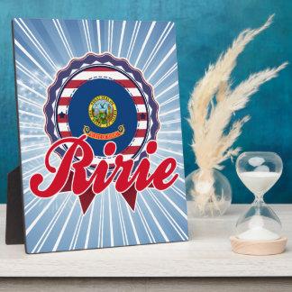 Ririe, ID Photo Plaque