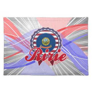 Ririe, ID Place Mat