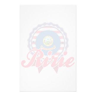Ririe, ID Stationery