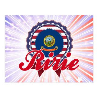Ririe, identificación postal