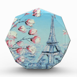 ris Spring Painting, Eiffel Tower Cherry Blossoms Award