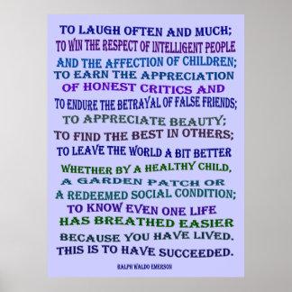 risa a menudo y mucha poster