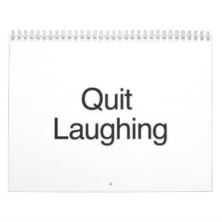 Risa abandonada calendarios