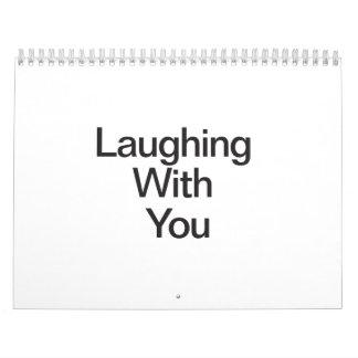 Risa con usted calendario
