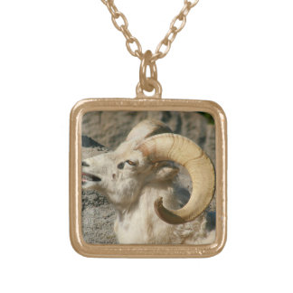 Risa de las ovejas del espolón o de Bighorn Collares Personalizados