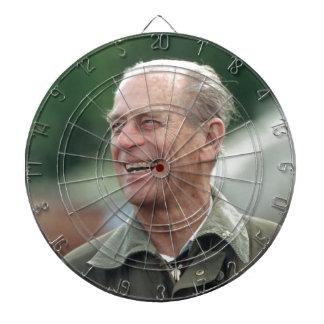 Risa de príncipe Philip de HRH Tablero Dardos