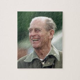 Risa de príncipe Philip de HRH Puzzles Con Fotos