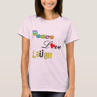 Risa del amor de la paz playera
