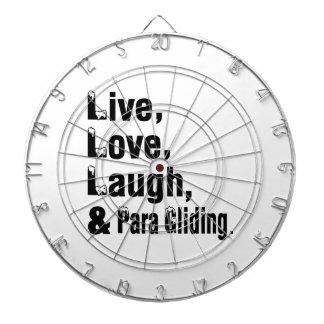 Risa del amor y deslizamiento vivos de Para