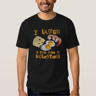 Risa del colesterol remeras