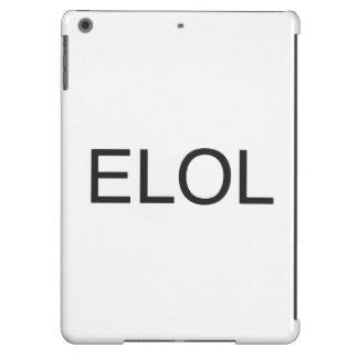 Risa malvada hacia fuera Loud.ai Funda Para iPad Air